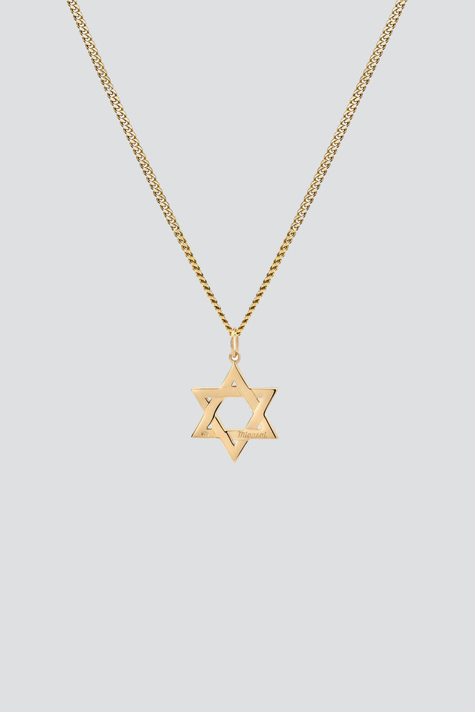 Gold Vermeil Star of David Pendant