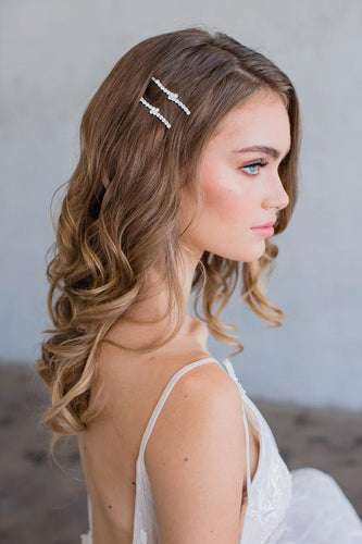 Etta bobby pins in gold by Brides & hairpins