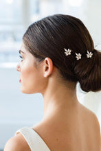 Load image into Gallery viewer, Coco hair pin set in gold by Brides & Hairpins