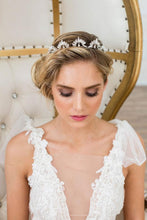 Load image into Gallery viewer, Roma Crown in Silver by Brides & Hairpins