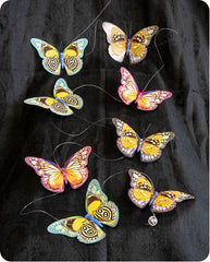 Fantasy Duo Paper Butterfly Garland