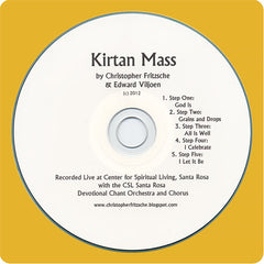 Kirtan Mass CD by Christopher Fritzsche and Edward Viljoen