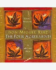 The Four Agreements Message Cards - by don Miguel Ruiz