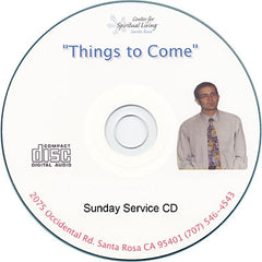 Sunday Message Audio CD