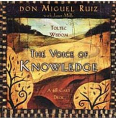 The Voice of Knowledge Cards by don Miguel Ruiz