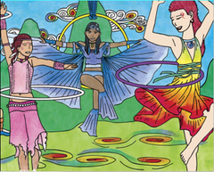Veda's Victory - an inspiring hooping story for children!