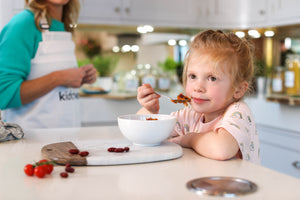 Is it possible for children to learn to love real food?