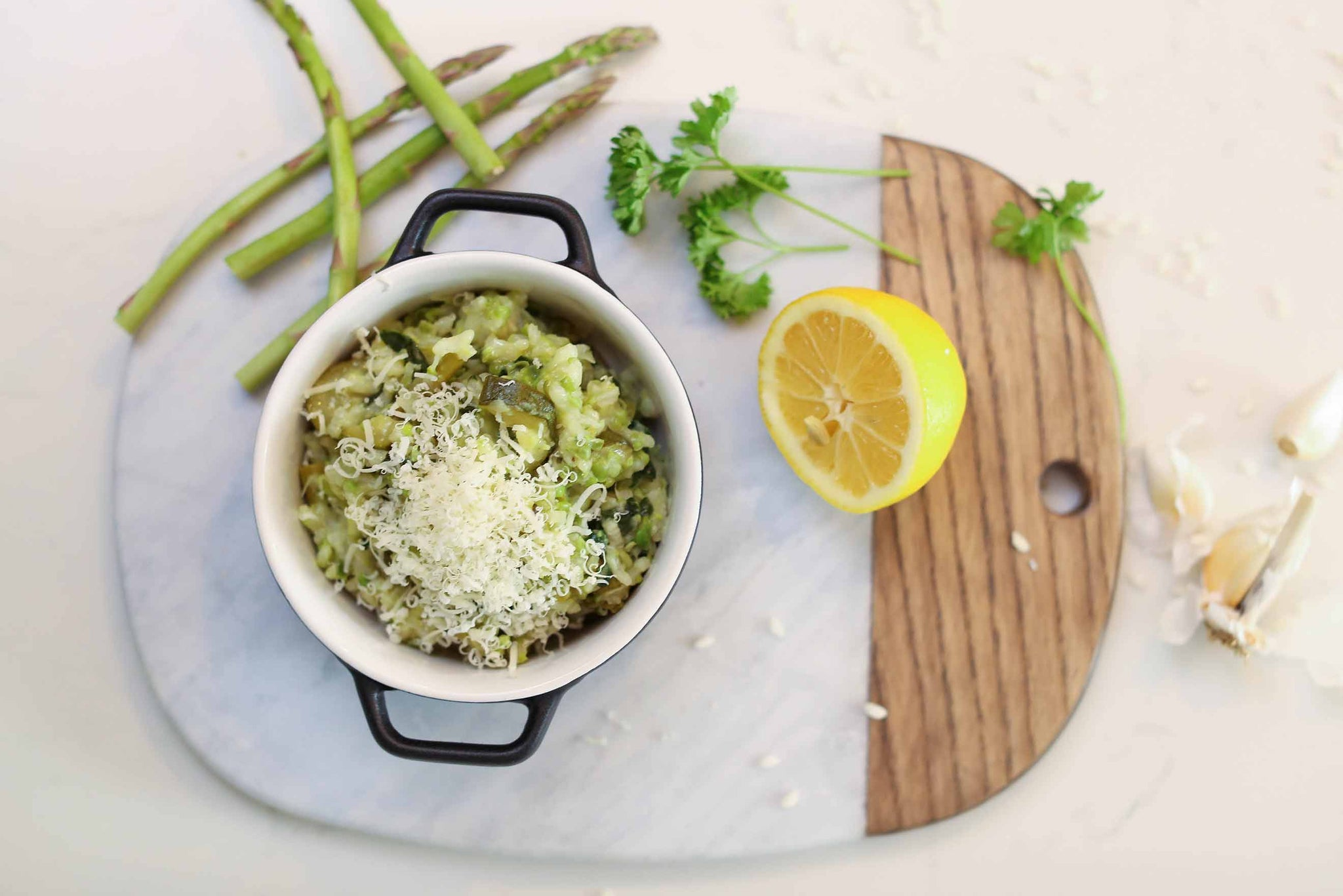 Summer Vegetable Risotto