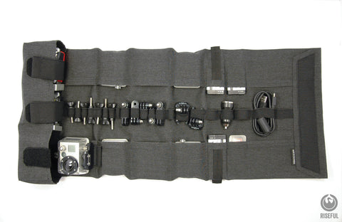 RollPro III - GoPro Organizer Carrying Case