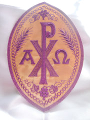 Chi Rho Emblem - Purple