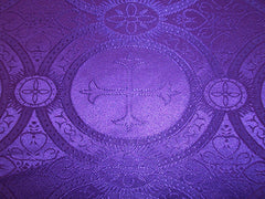 Purple Vestment Fabric