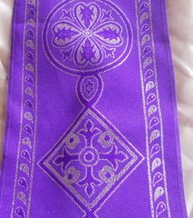 Purple Celtic Trim, 4 1/2""
