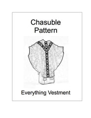 Chasuble Pattern