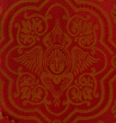 Red and Gold Brocade - DISCOUNTED PRICE!