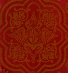 Red and Gold Brocade - SUPER LOW COST, MUST GO!