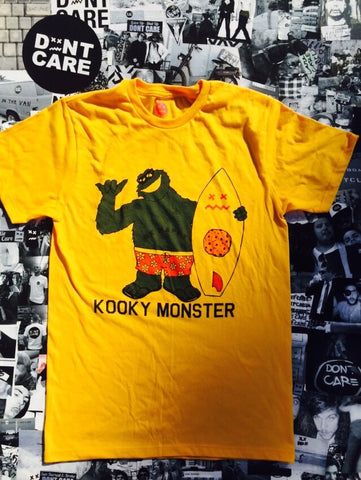 Kooky Monster Yellow