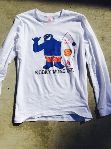 Kooky Monster long sleeve