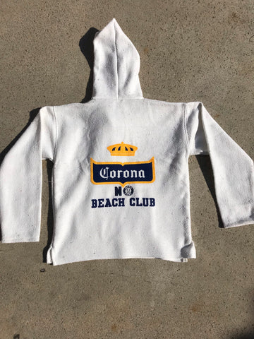 Corona No Beach Club Poncho