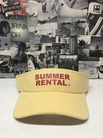 Summer Rental visor