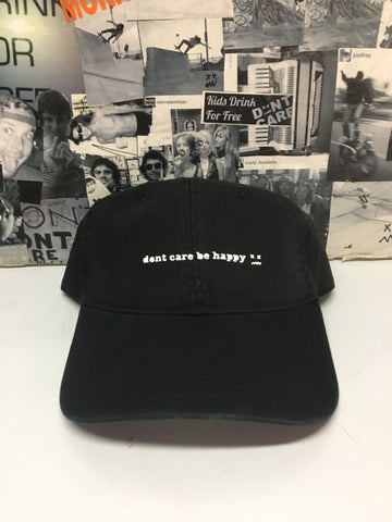 Lower Case dad hat