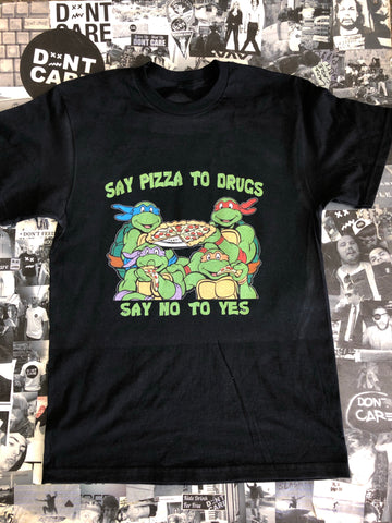 Say pizza to drugs