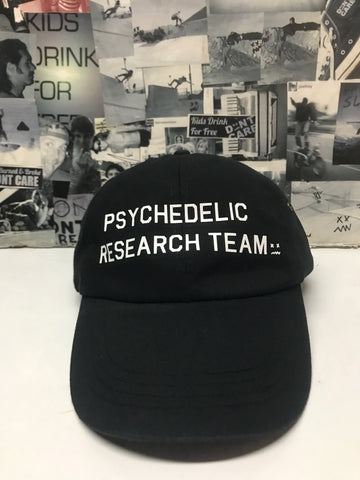Psychedelic Research Team Dad Hat Black