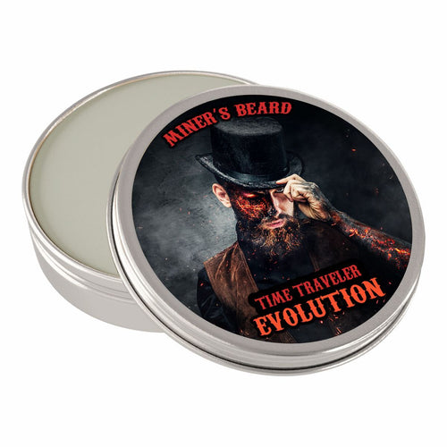 Time Traveler Evolution Beard Balm - Miner's Beard Co