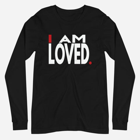 LOVED LONG SLEEVE TEE - I.AM.LUV by V
