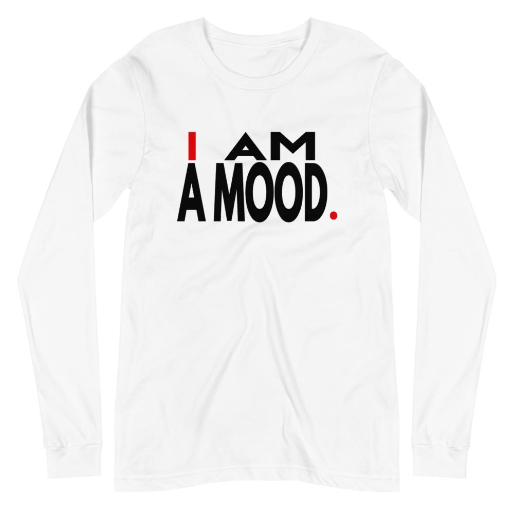 A MOOD LONG SLEEVE TEE - I.AM.LUV by V