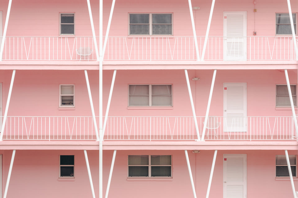 Pink Architecture Home Design