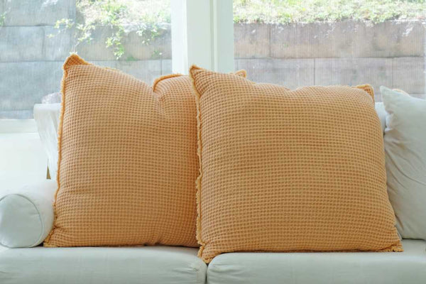 Apricot pillow set