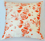 Orange Blossom Pillow Cover