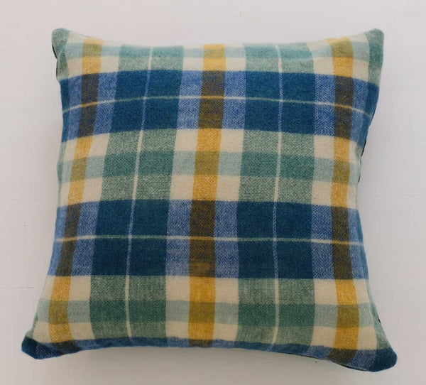Wool Plaid Pillow | Limited Edition