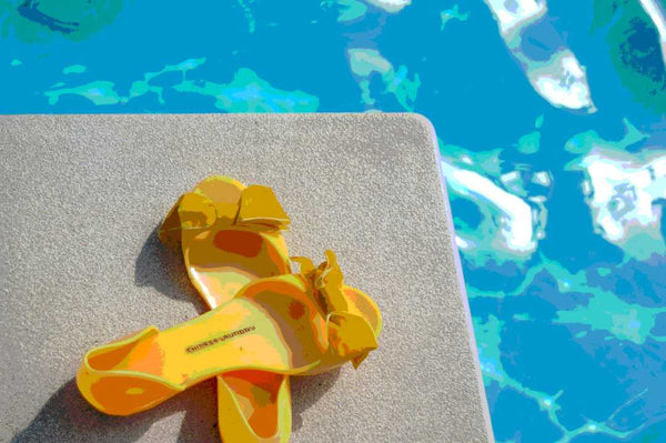 Pool Shoes Photography Art