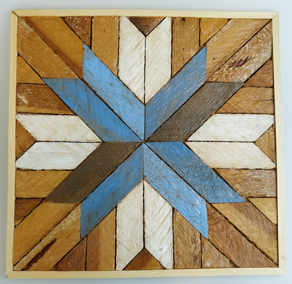 Wood Quilters Star Art