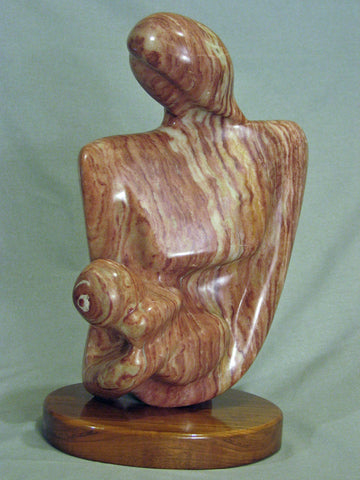 Cherish, Stone Sculpture - Sonarta.com