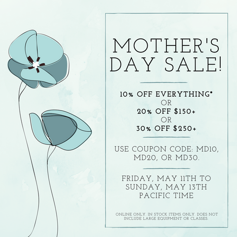Mother's Day Sale 2018