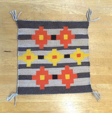 CLASS 17Q4 Navajo Style Weaving - Loom included!