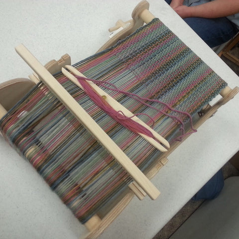 CLASS 18Q2 Beginning Rigid Heddle Weaving