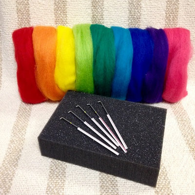 NEW! Needle Felting Starter Kit with Mini Foam