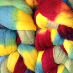 NEW! Frabjous Fibers Hand Dyed Organic Polwarth
