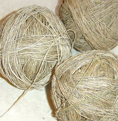 Frabjous Fibers Fair Trade Handspun Hemp Yarn