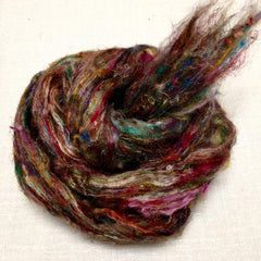 NEW! Frabjous Fibers Pulled Silk Fiber