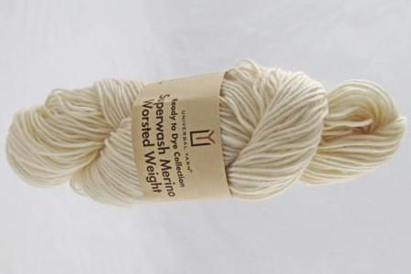 Universal Ready to Dye Superwash Merino Worsted