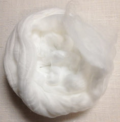 Foxglove Snow Mountain Nylon Roving