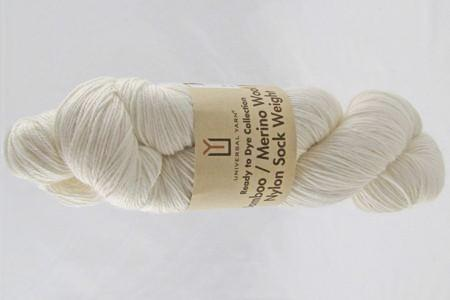 Universal Ready to Dye Bamboo Merino Nylon Sock Weight