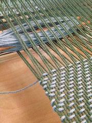 CLASS 20q1 Intro To Weaving on a 4-Shaft Loom: March