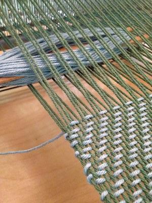 CLASS 18Q3 Intro To Weaving on a 4-Shaft Loom
