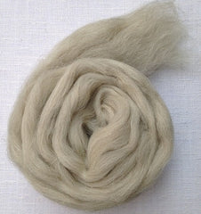 Foxglove Light Grey Swaledale Roving