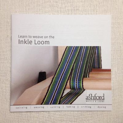 Ashford Learn to Weave on the Inkle Loom (Booklet)